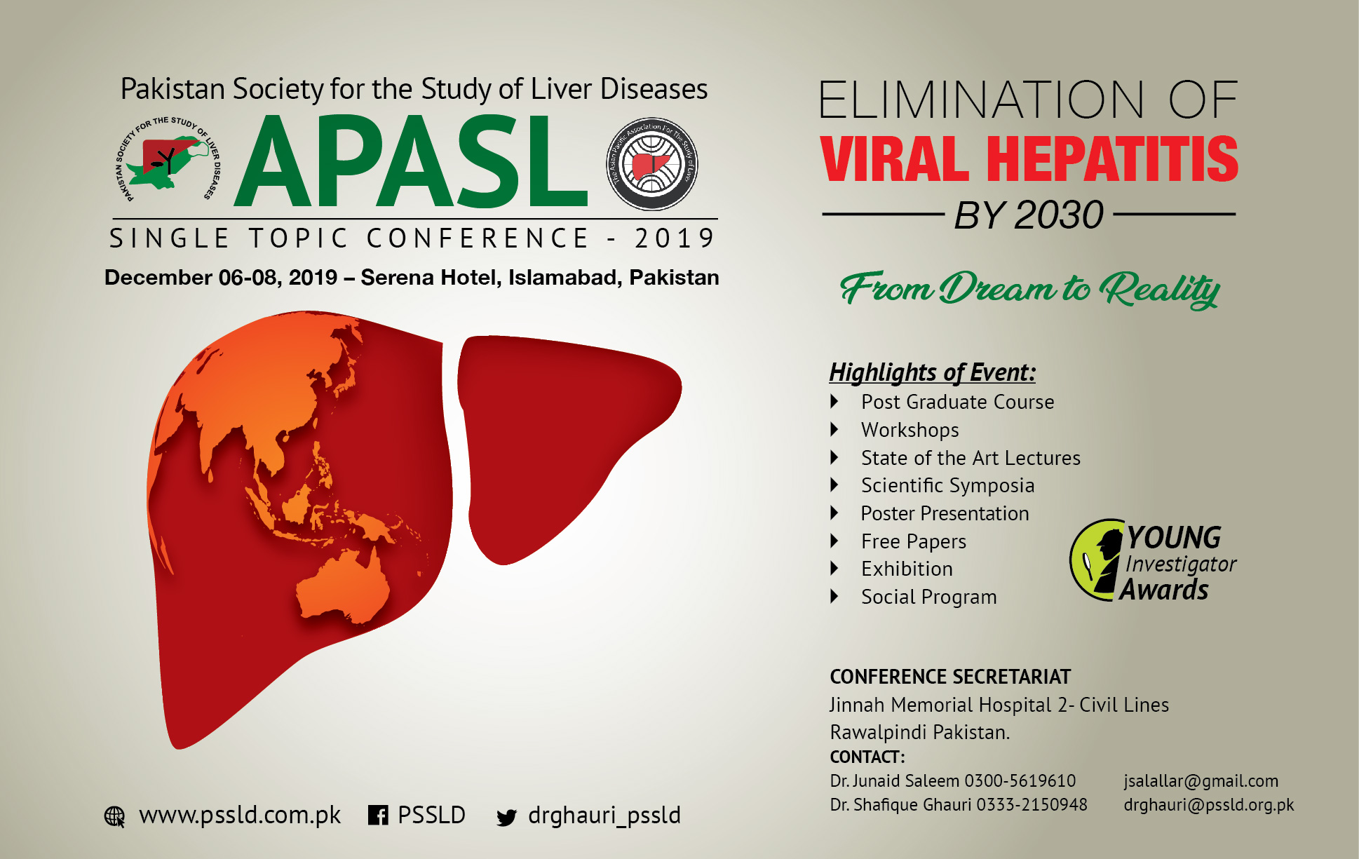 The Asian Pacific Association for the Study of the Liver [APASL]