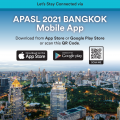 Visit the Mobile App for APASL 2021 Bangkok!