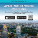 Visit the Mobile App for APASL 2021 Bangkok!
