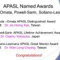 The Awardees of APASL Awards